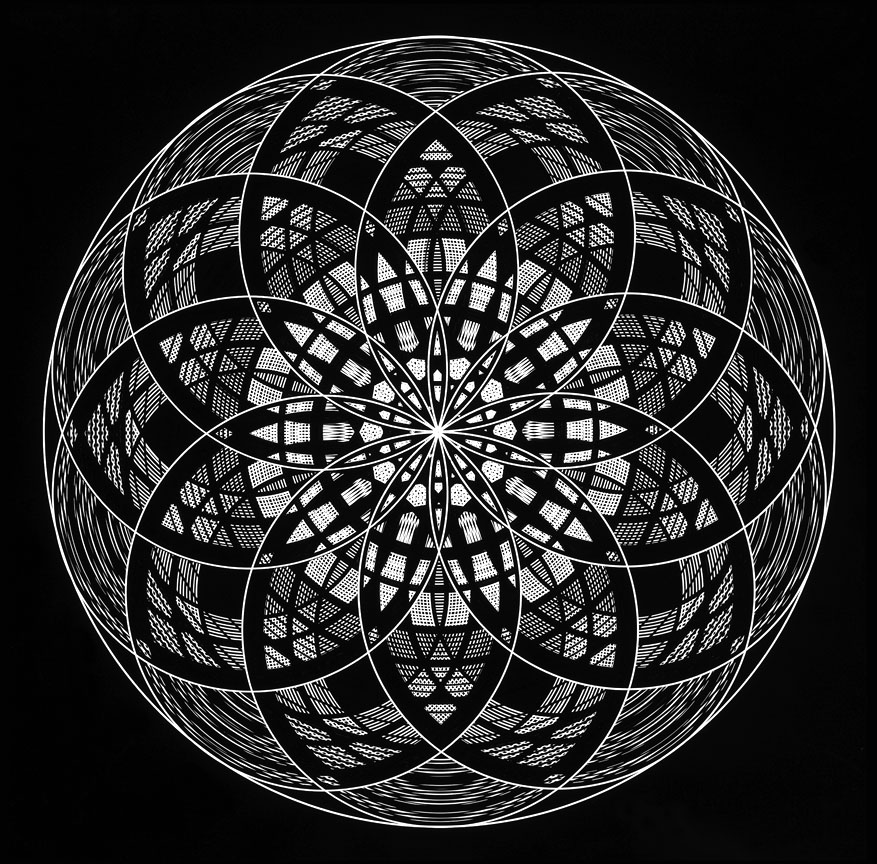 Mandala Sacred Geometry - Manifestation