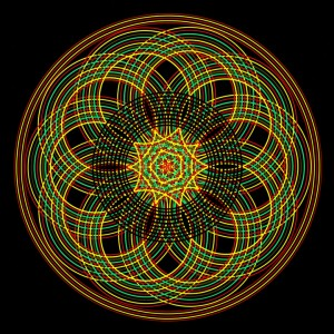 Mandala Sacred Geometry - Love Within