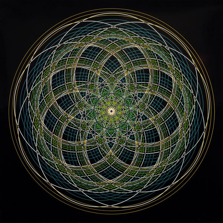 Mandala Sacred Geometry - Presence