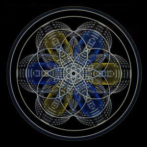 Mandala Sacred Geometry - Merkaba