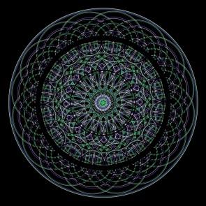 Mandala Sacred Geometry - Harmonic