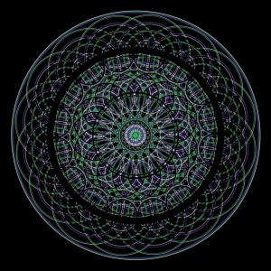 Sacred Geometry Mandala - Harmonic